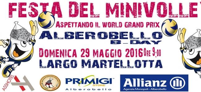 29-05-2016: Ad Alberobello festa del minivolley in Piazza aspettando il Grand Prix