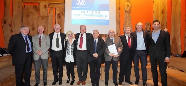 06-02-2017: #fipav - Presentata a Milano la squadra di Cattaneo per la corsa alla presidenza FIPAV
