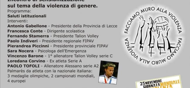 16-11-2017: #ilvolleyperfedericaeandrea - Sabato 25 novembre a Tuglie il convegno