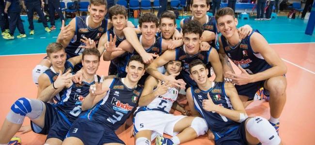 24-07-2018: #fipavpuglia - L'Italia U18 di Vincenzo Fanizza in Belgio per il torneo WEVZA