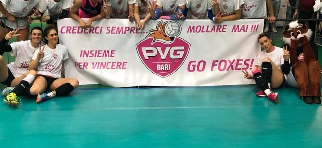 17-05-2018: #B2FVolley - PVG Bari chiude la pratica Palmi e vola in semifinale nei Play Off di B2F