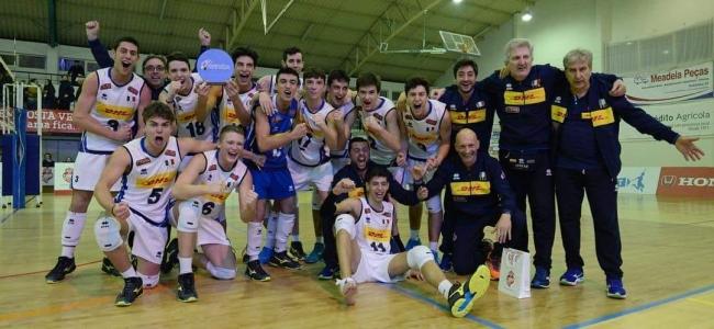 14-01-2019: #wevzau17m - Italia U17M, vittoria al torneo wevza U17 e qualificazione agli europei di categoria