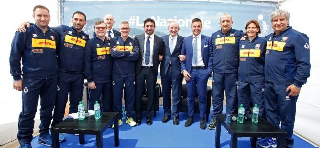 19-04-2019: #lanazionale - Presentati gli staff delle nazionali azzurre. Il pugliese Vincenzo Fanizza alla guida dell'U19 maschile.