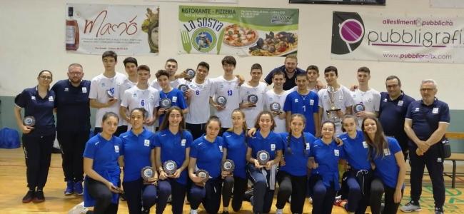 27-05-2019: #fipavpuglia - Secondo posto maschile e quinto femminile per la Puglia al 3 Mari in Calabria