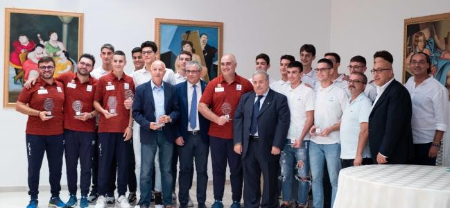 15-10-2019: #fipavpuglia - Premiate le eccellenze pugliesi 2018-2019