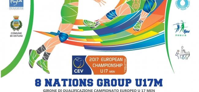 19-07-2016: #8nationsgroupu17M - Dal 28 al 31 luglio 8 nations group U17M ad Ostuni
