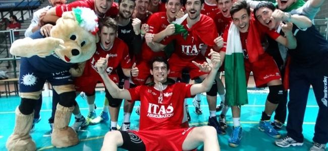 24-05-2015: #delmontejunior - Trento trionfa in Junior League, secondo posto per Castellana Grotte